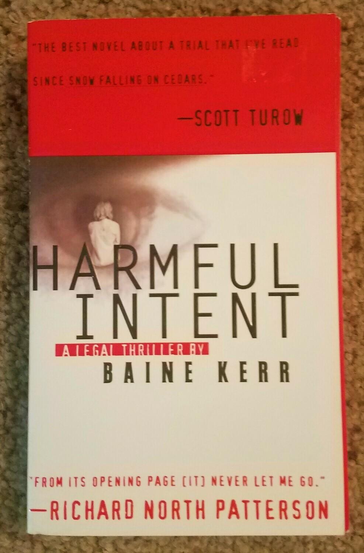 Harmful Intent by Baine Kerr