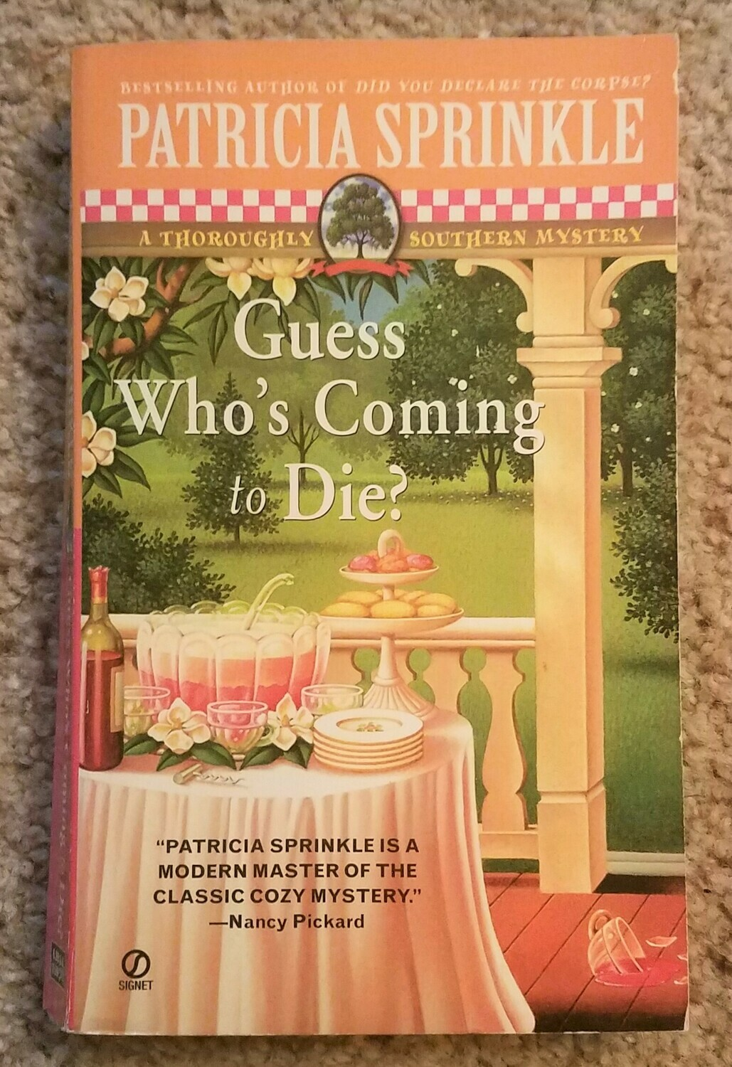 Guess Who's Coming to Die? by Patricia Sprinkle