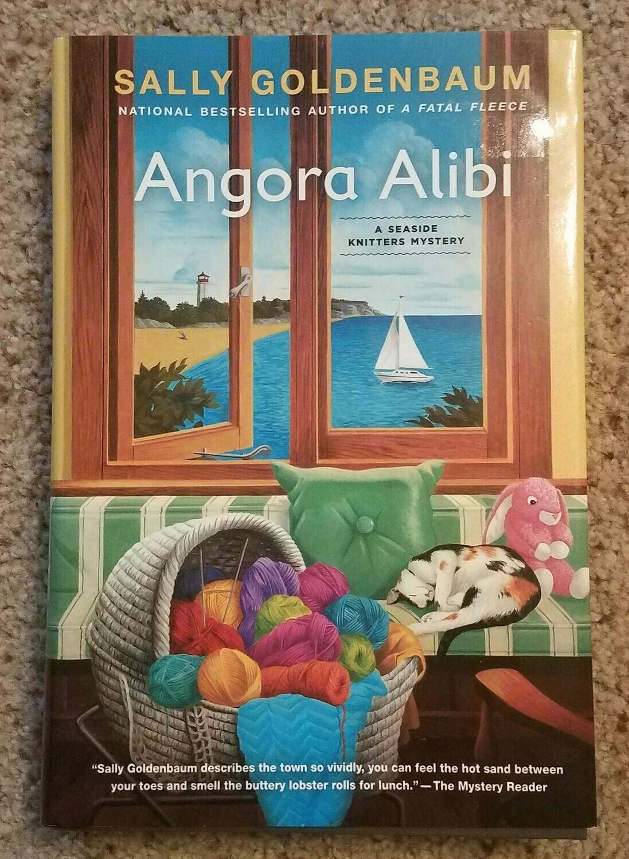 Angora Alibi by Sally Goldenbaum