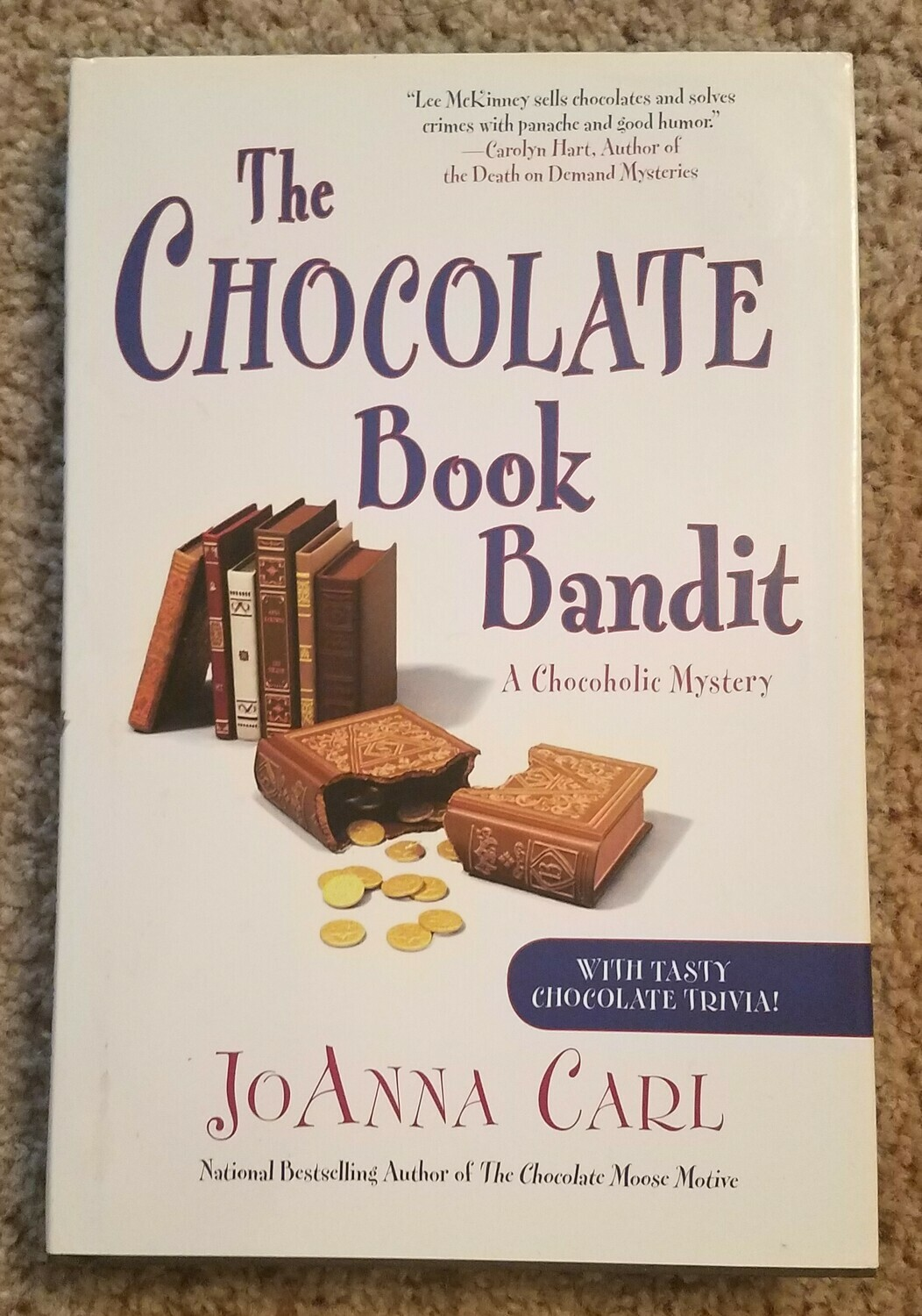 The Chocolate Book Bandit by JoAnna Carl