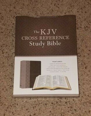 KJV Cross Reference Study Bible (Stone)