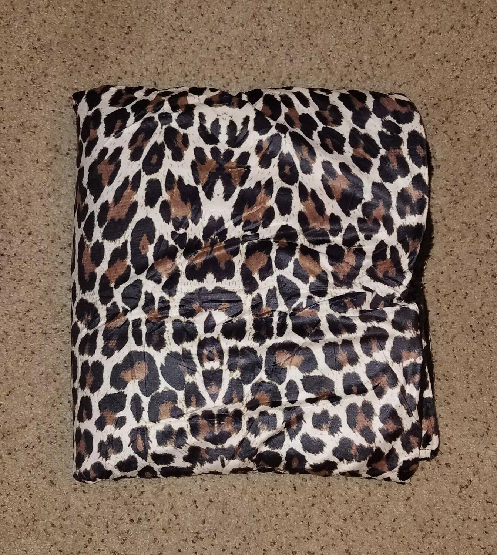 Leopard Print Sherpa Blanket