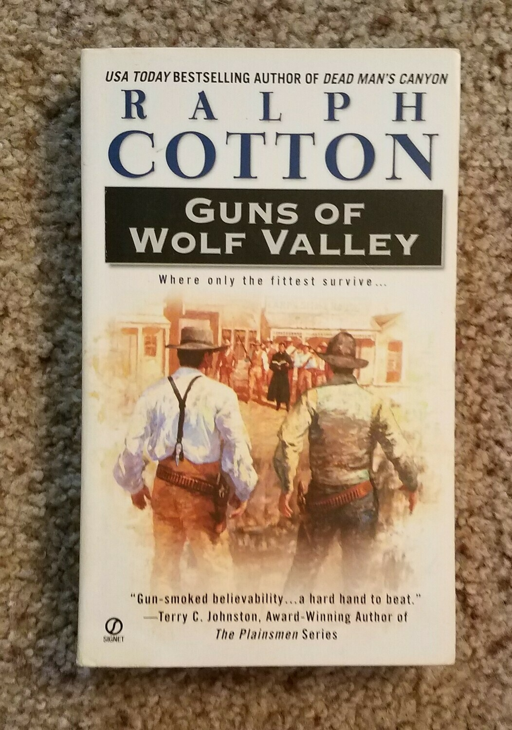 Guns of Wolf Valley by Ralph Cotton