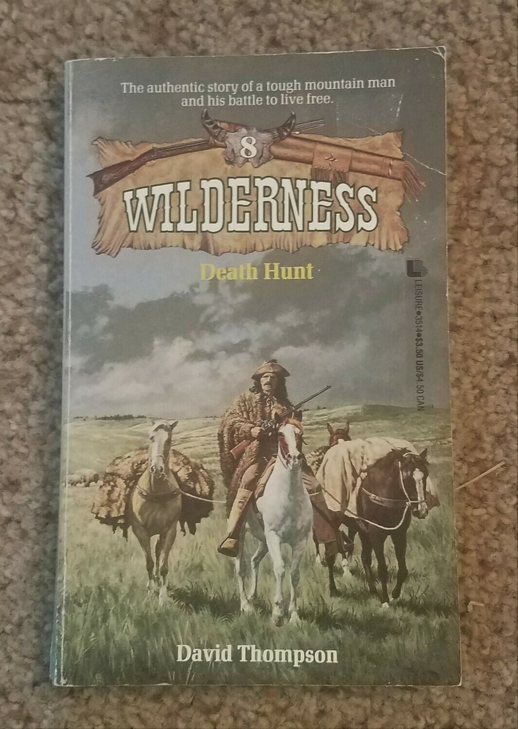 Wilderness: Death Hunt by David Thompson