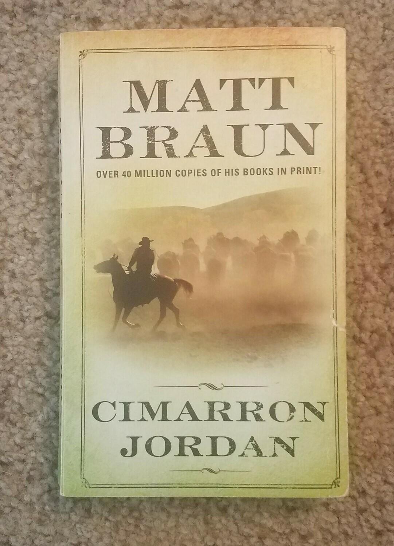 Cimarron Jordan by Matt Braun
