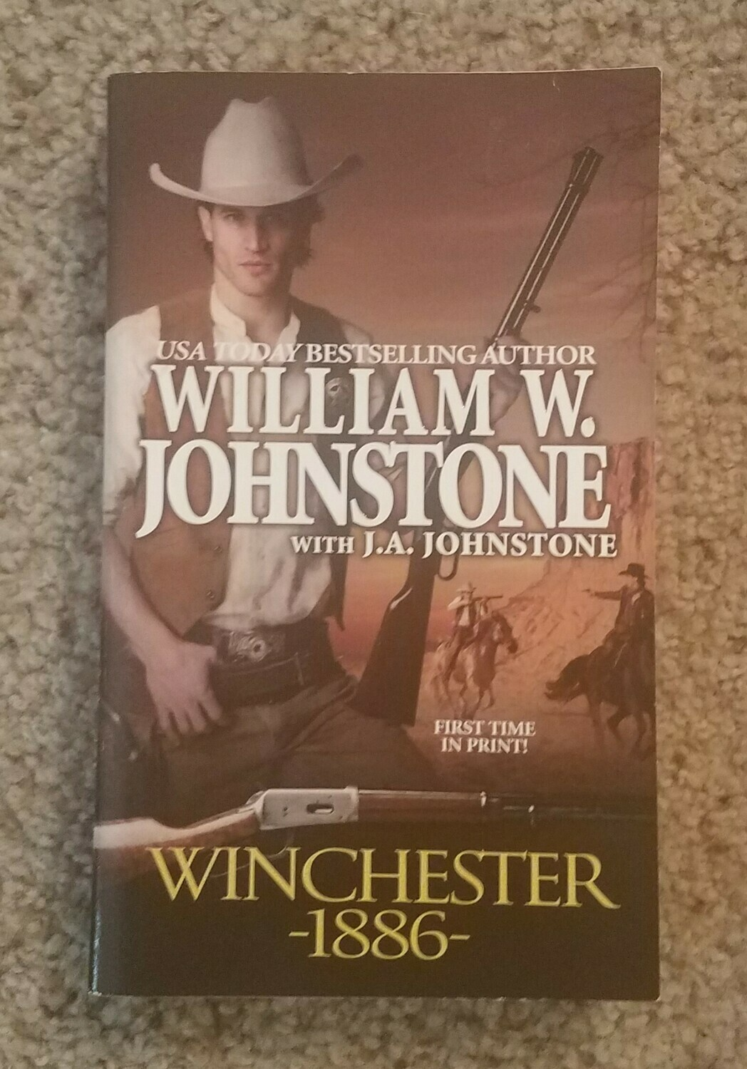 Winchester -1886- by William W. Johnstone with J.A. Johnstone