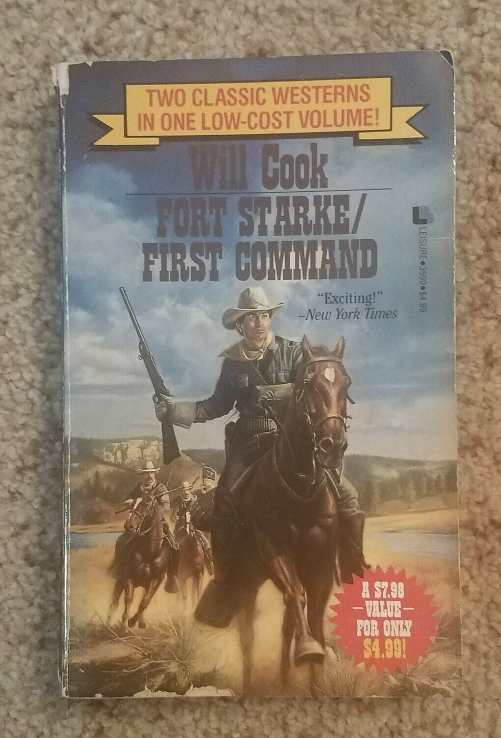 Fort Starke/First Command by Will Cook