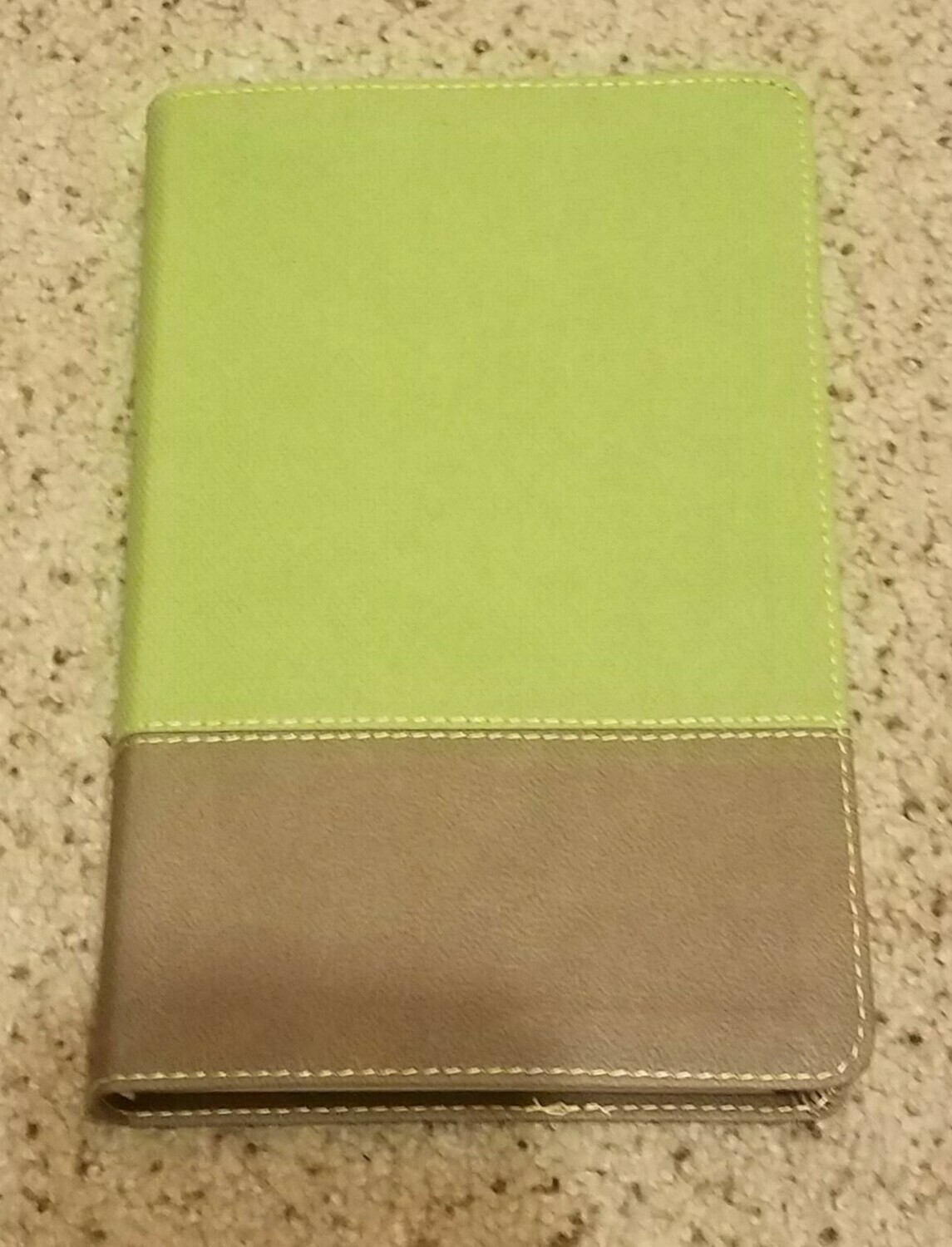 KJV Study Bible for Boys Olive/Brown Leather Touch