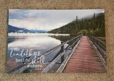Psalm 23:2 Printed Art