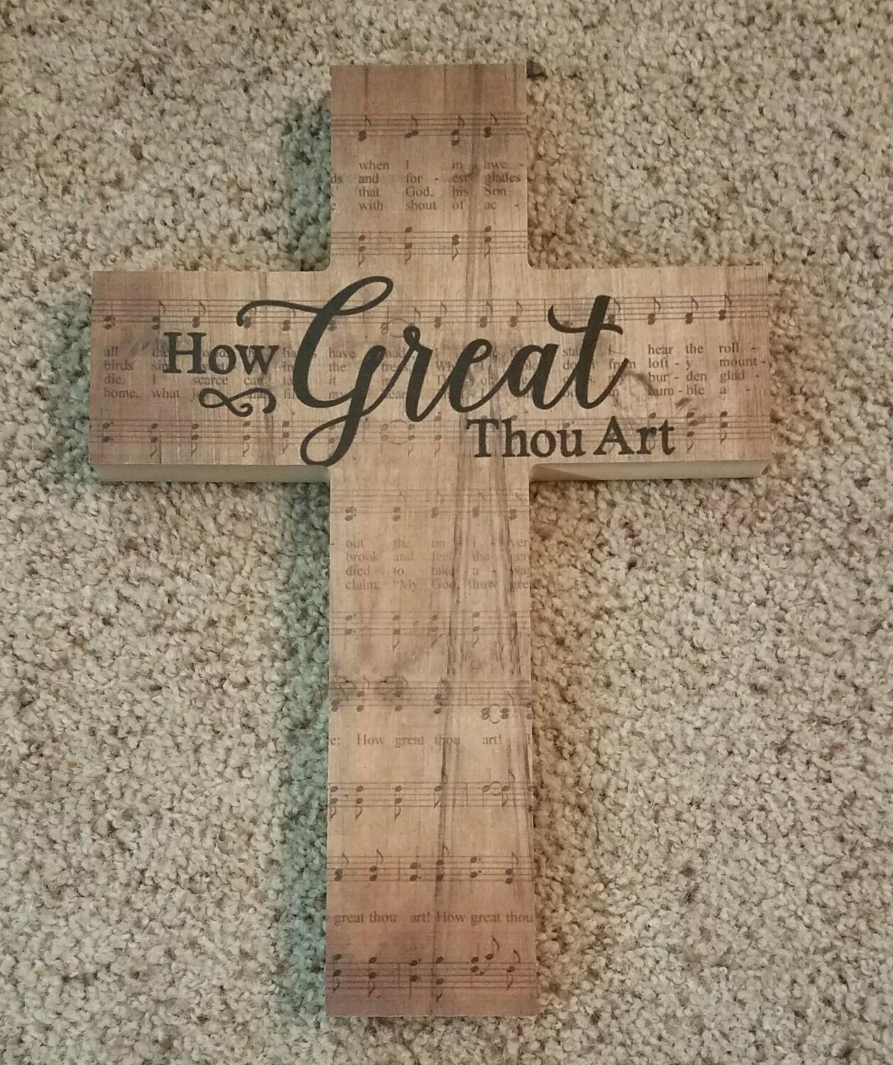 How Great Thou Art Cross - P. Graham Dunn