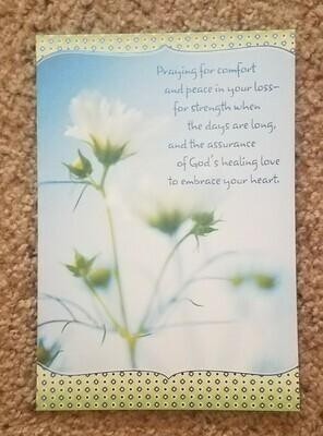 Dayspring Individual Sympathy Cards - Set 1