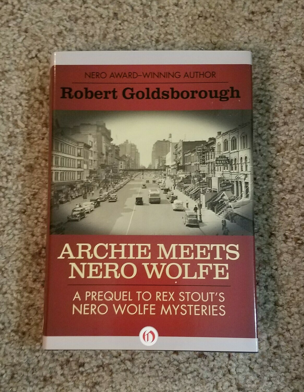 Archie meets Nero Wolfe by Robert Goldsborough