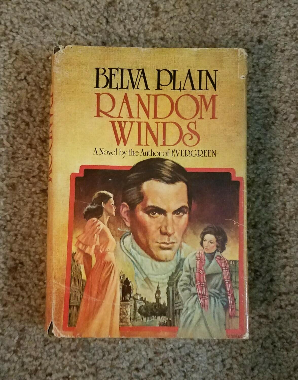 Random Winds by Belva Plain - Hardback