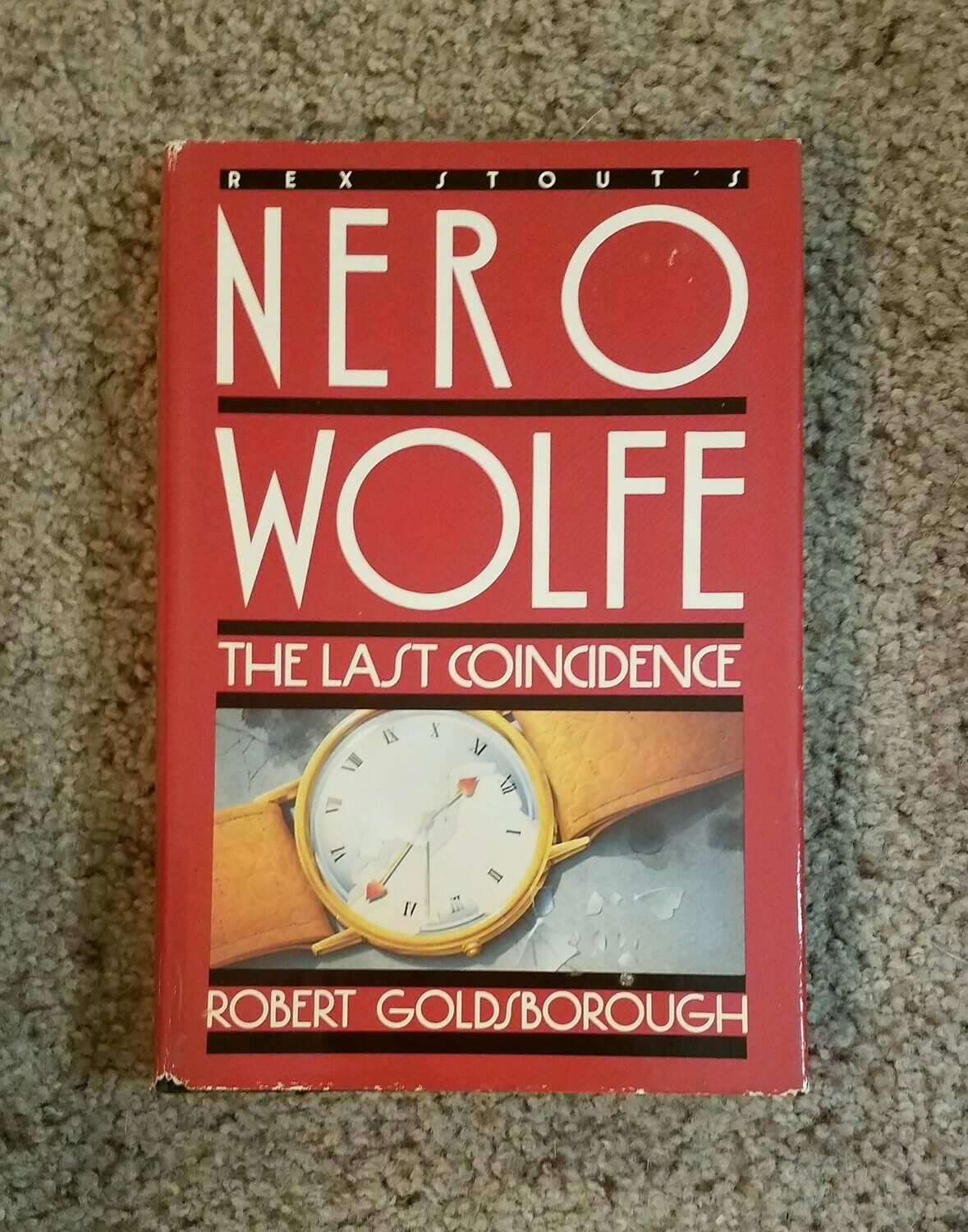 Nero Wolfe: The Last Coincidence by Robert Goldsborough