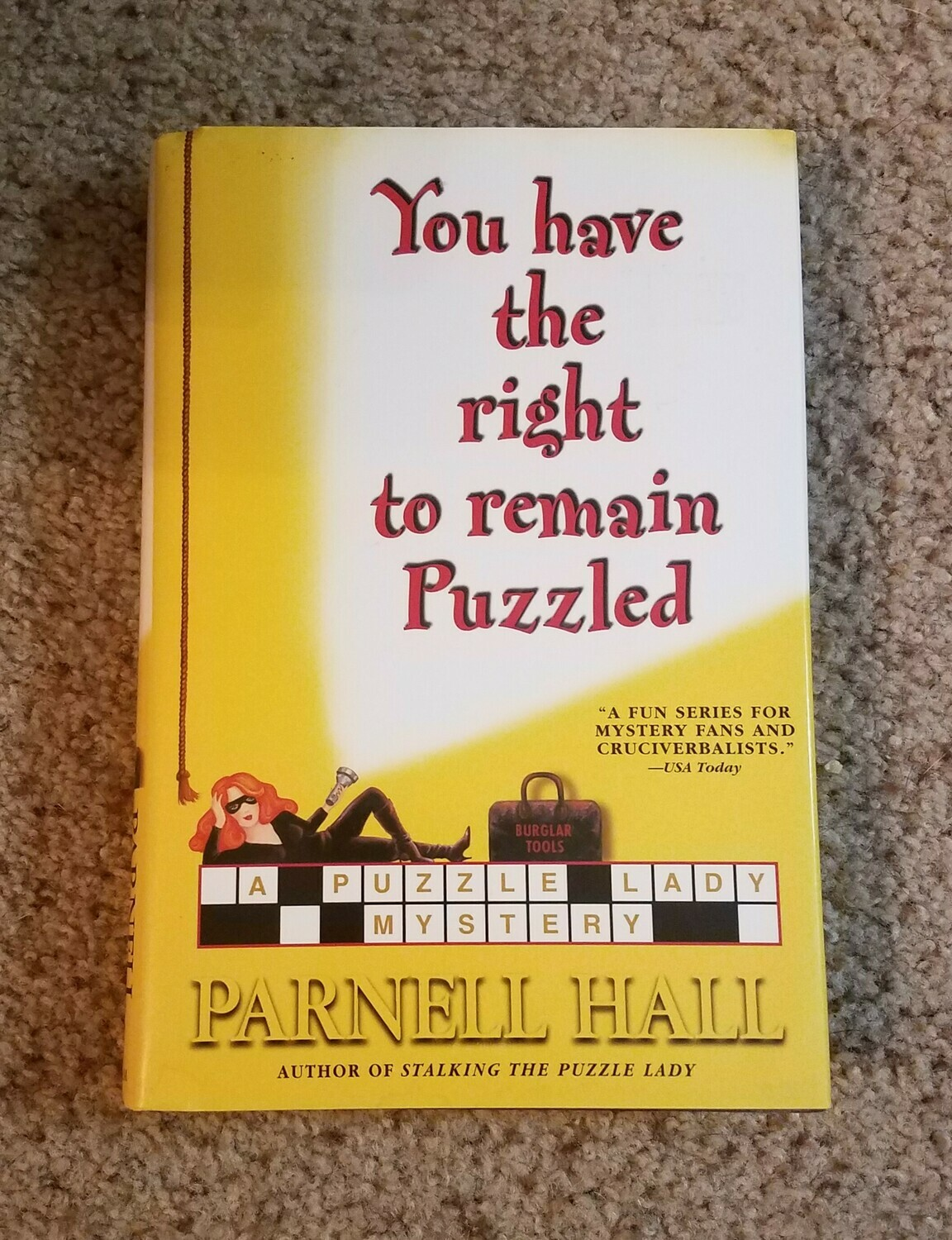 You have the Right to remain Puzzled by Parnell Hall