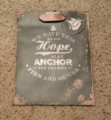 Hope As An Anchor Gift Bag