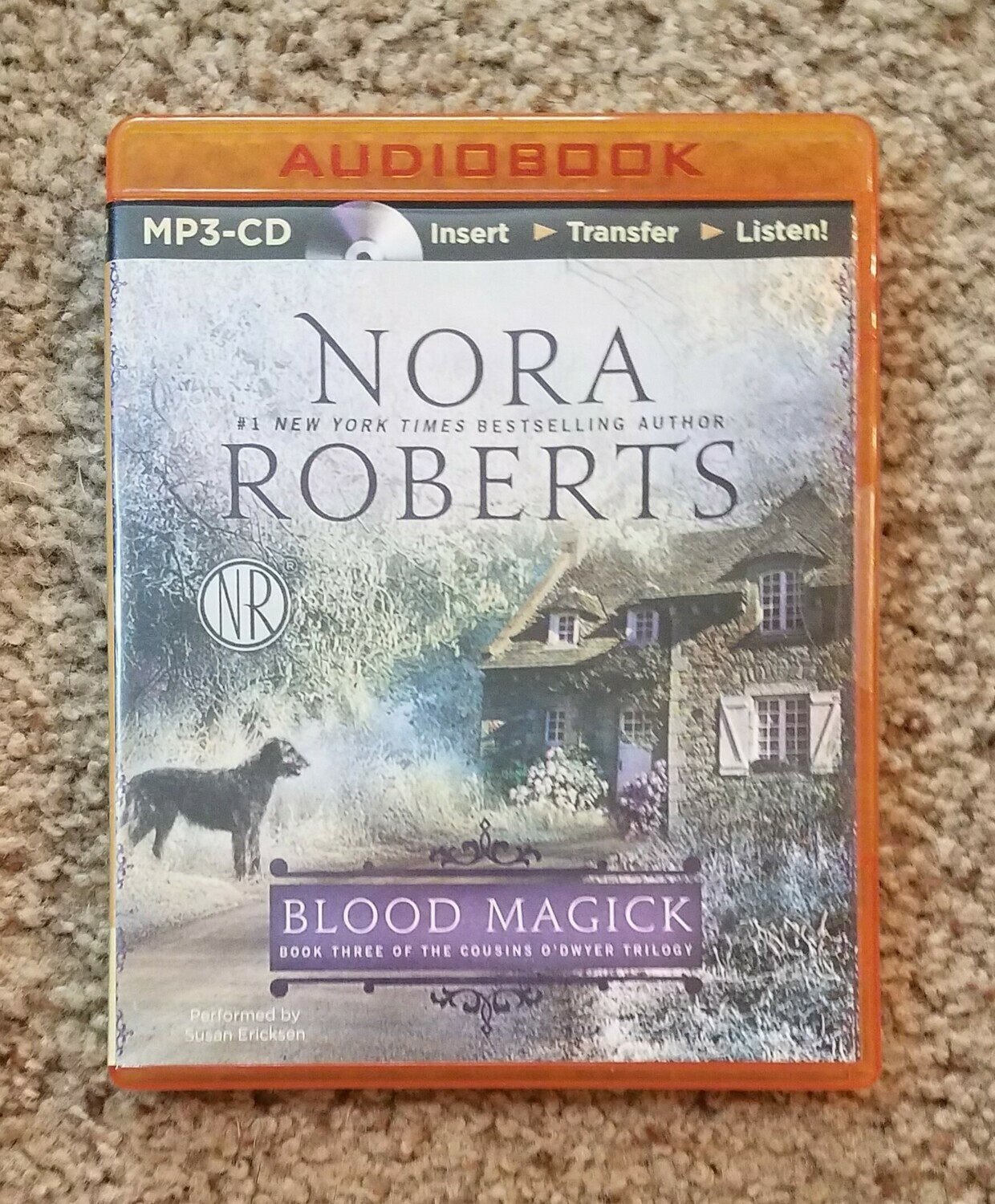 Blood Magick by Nora Roberts - Audiobook CD