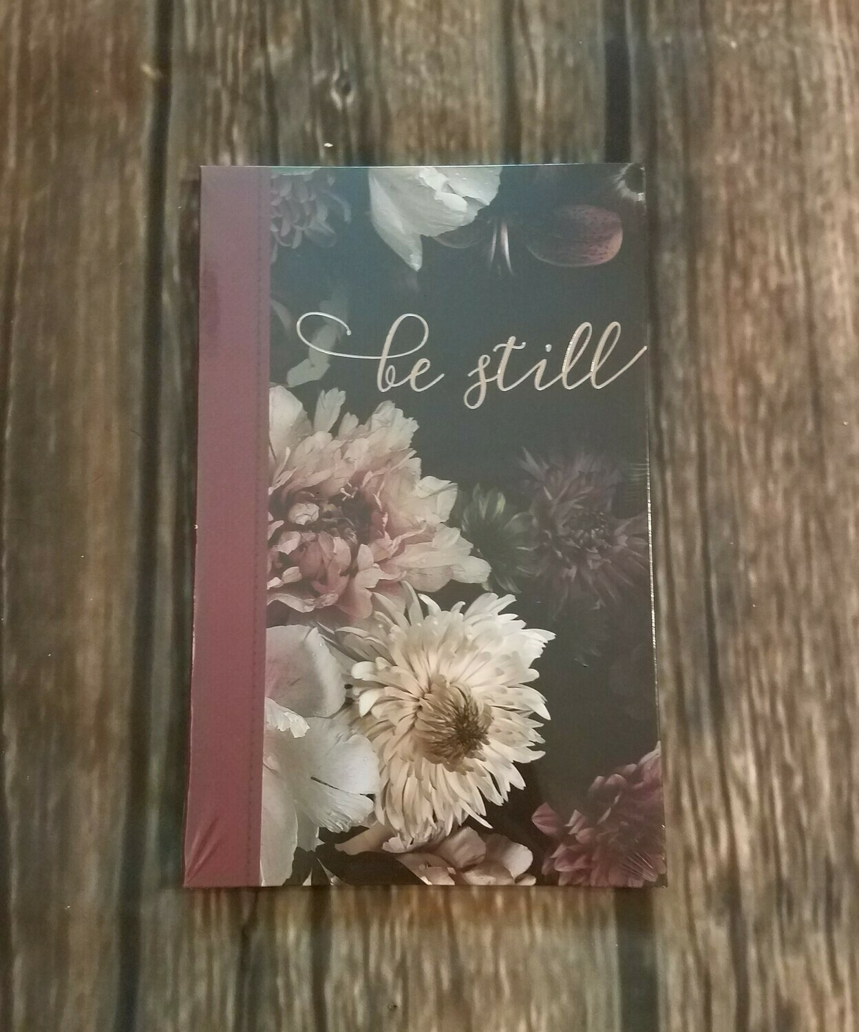 Be Still Flower Pattern Journal