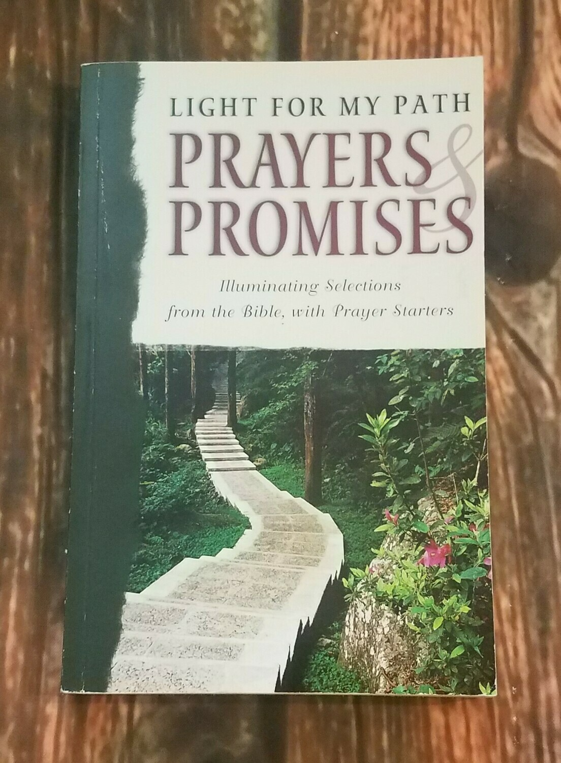 Light for My Path: Prayers and Promises by Barbour Publishing