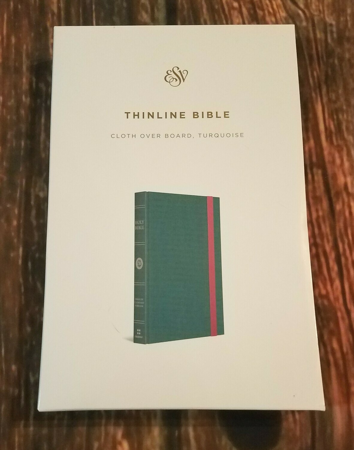 ESV Thinline Bible - Tuquoise Leather