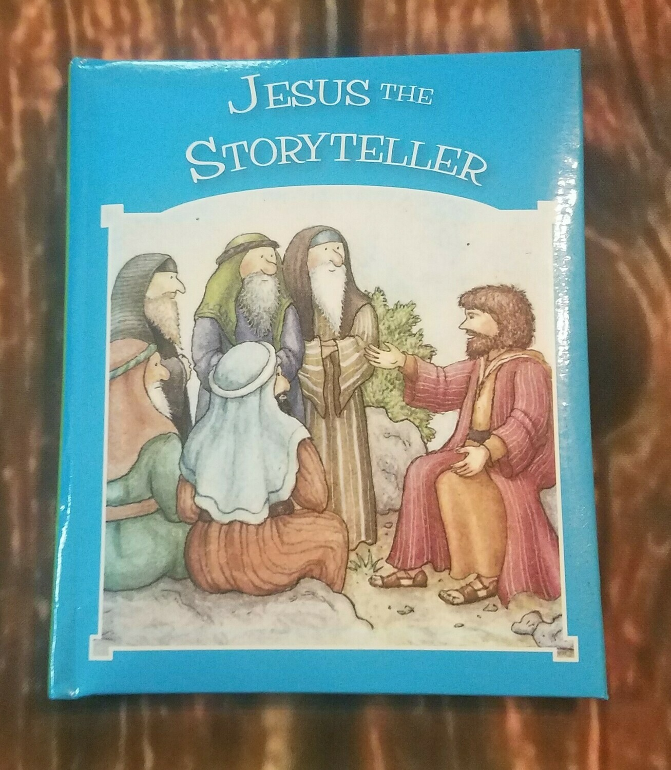 Jesus the Storyteller by Tim and Jenny Wood