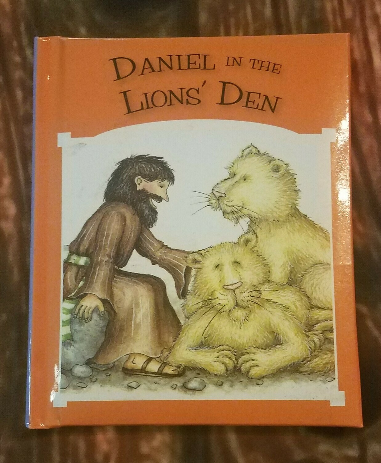 Daniel in the Lions' Den by Tim and Jenny Wood