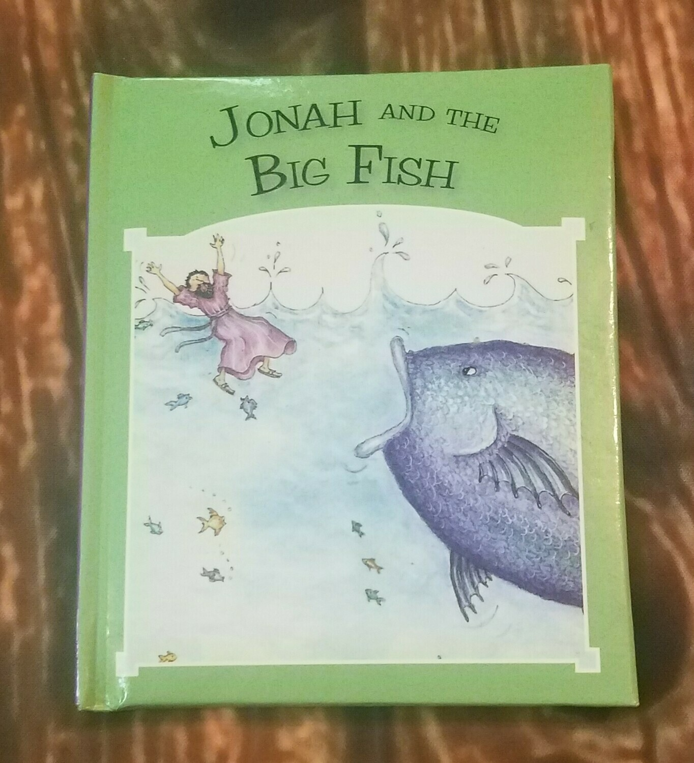 Jonah and the Big Fish by Tim and Jenny Wood