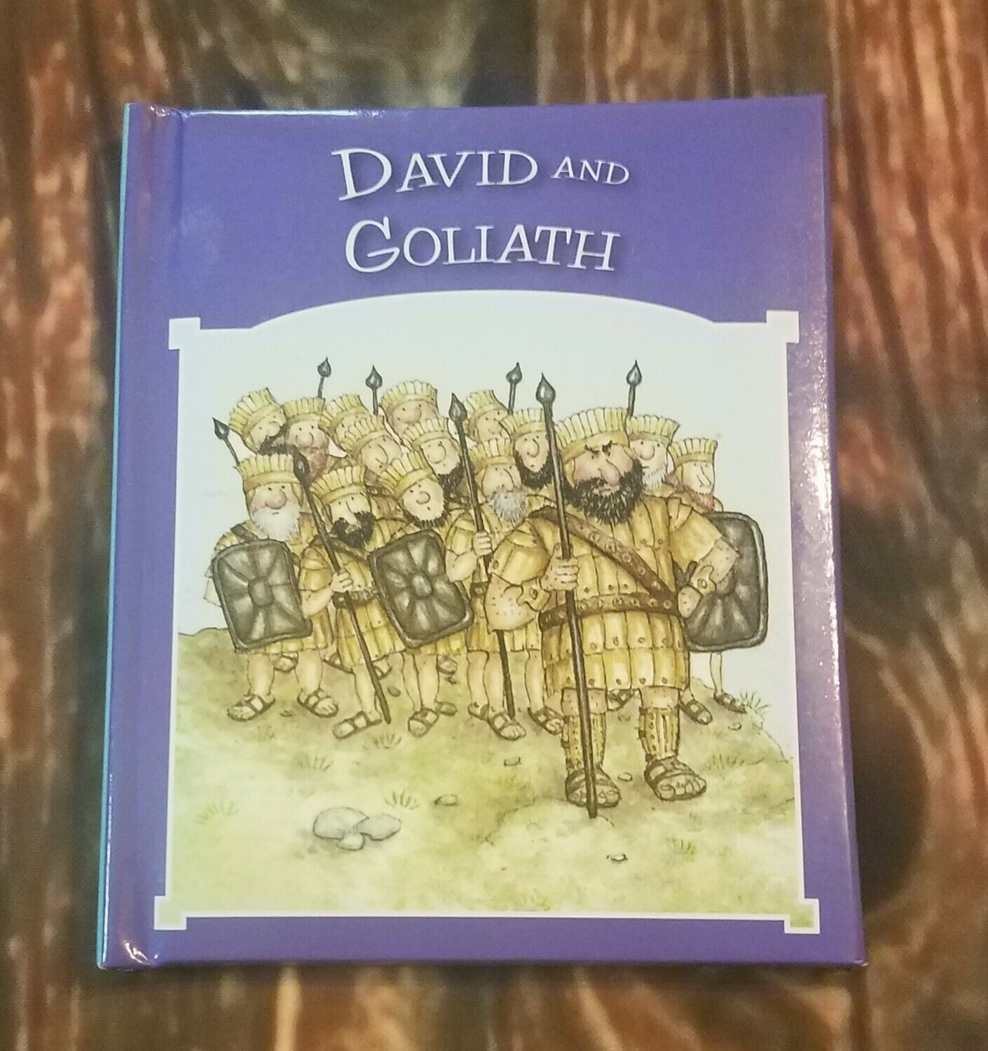 David and Goliath by Tim and Jenny Wood