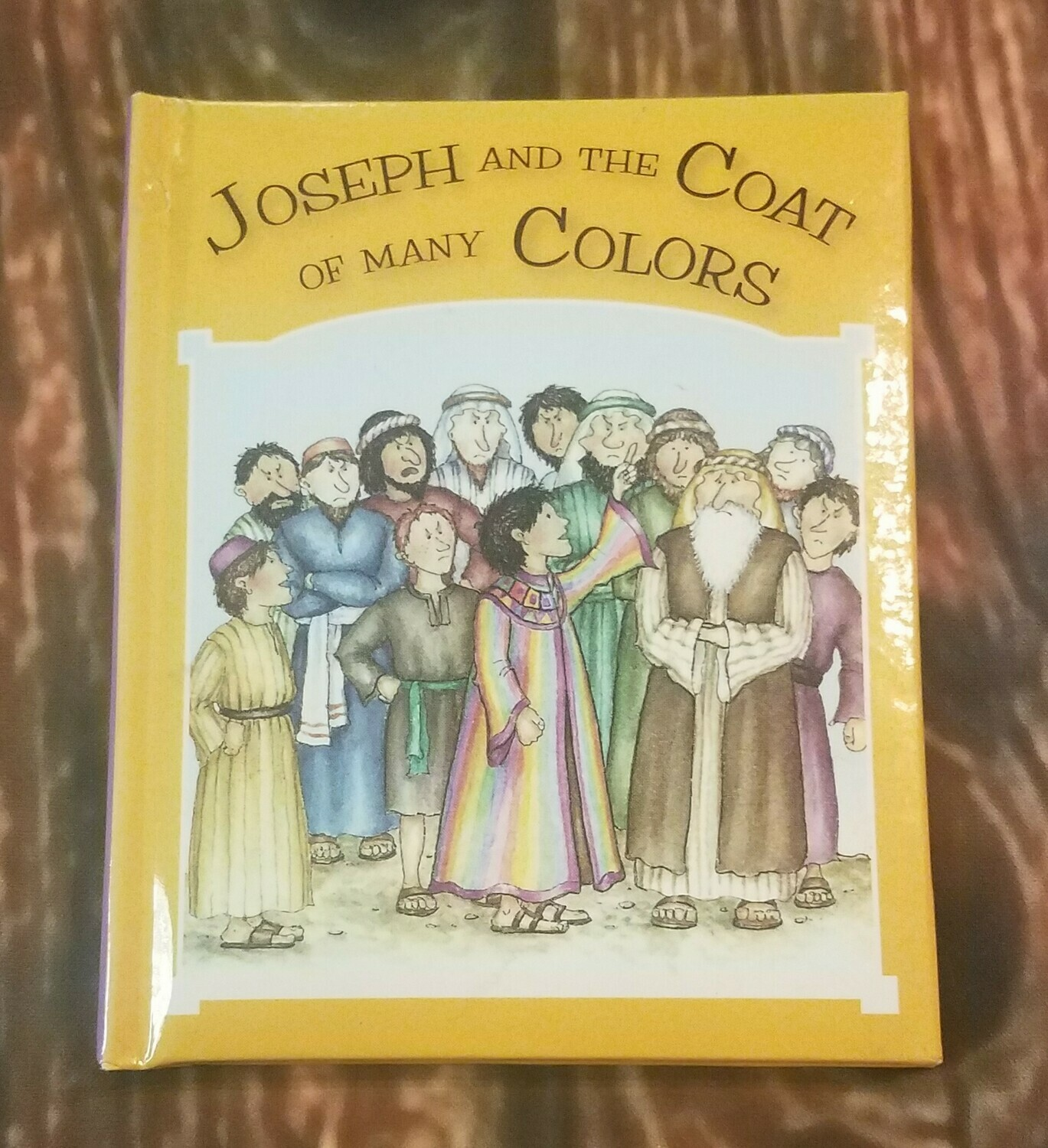 Joseph and the Coat of Many Colors by Tim and Jenny Wood