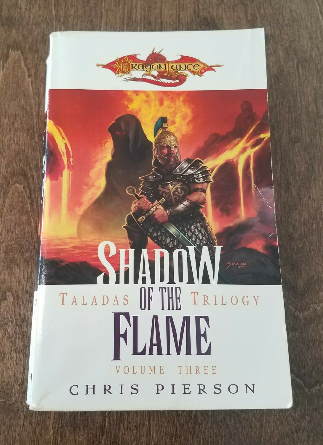 Dragon Lance: Shadow of the Flame by Chris Pierson
