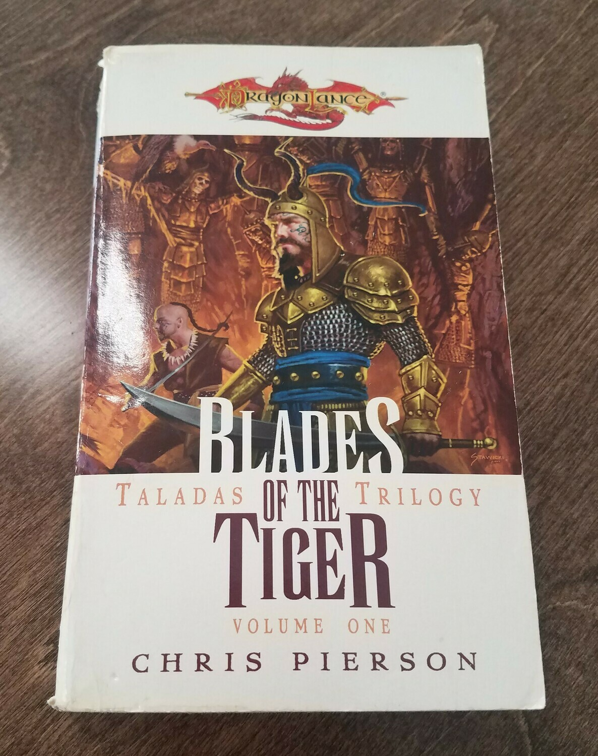 Dragon Lance: Blades of the Tiger by Chris Pierson