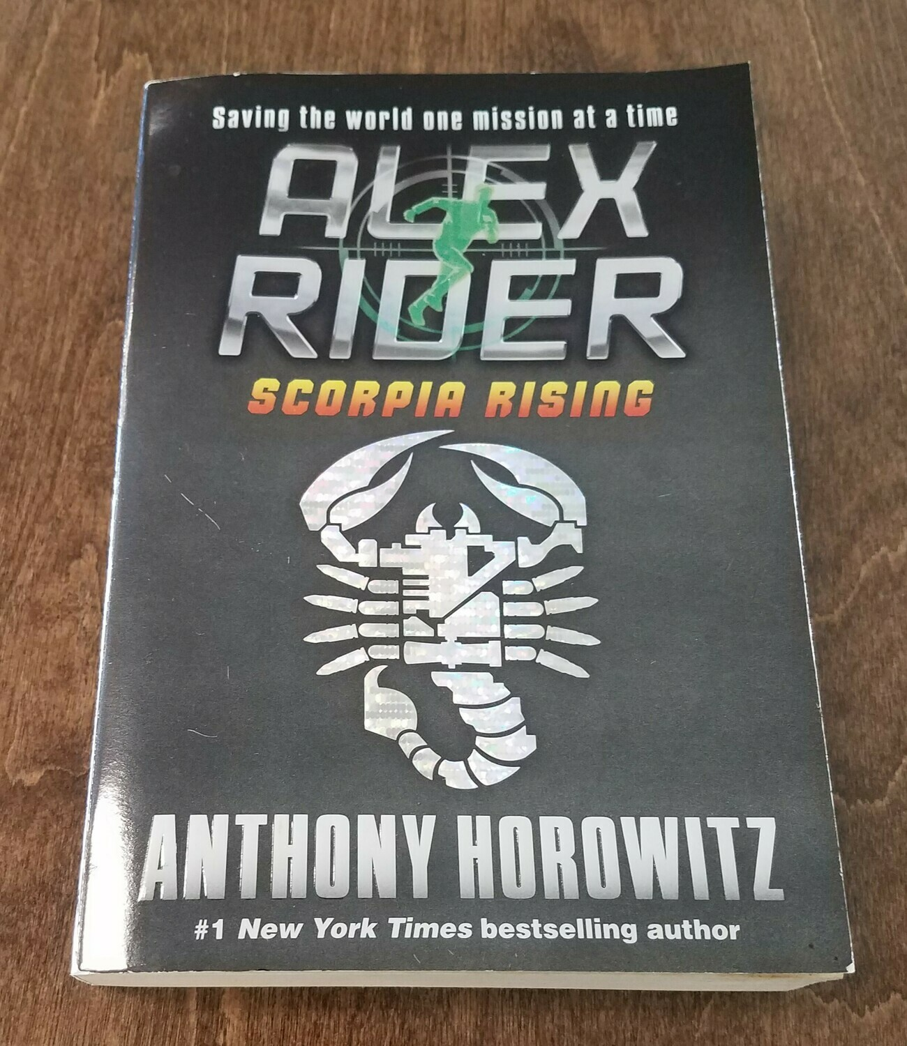 Alex Rider: Scorpia Rising by Anthony Horowitz