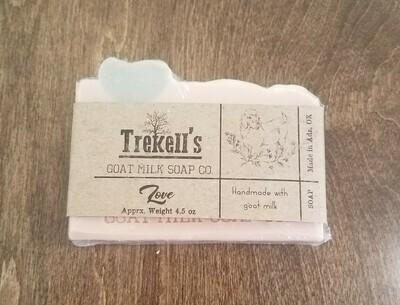 Goat's Milk Bar Soap - Love