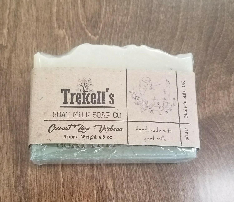 Goat's Milk Bar Soap - Coconut Lime Verbena