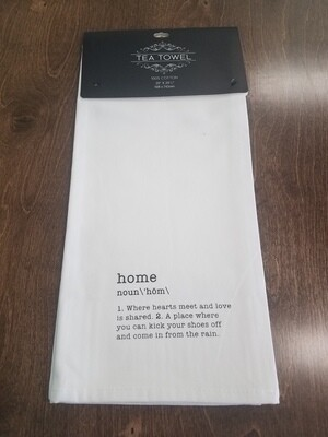 Home Tea Towel