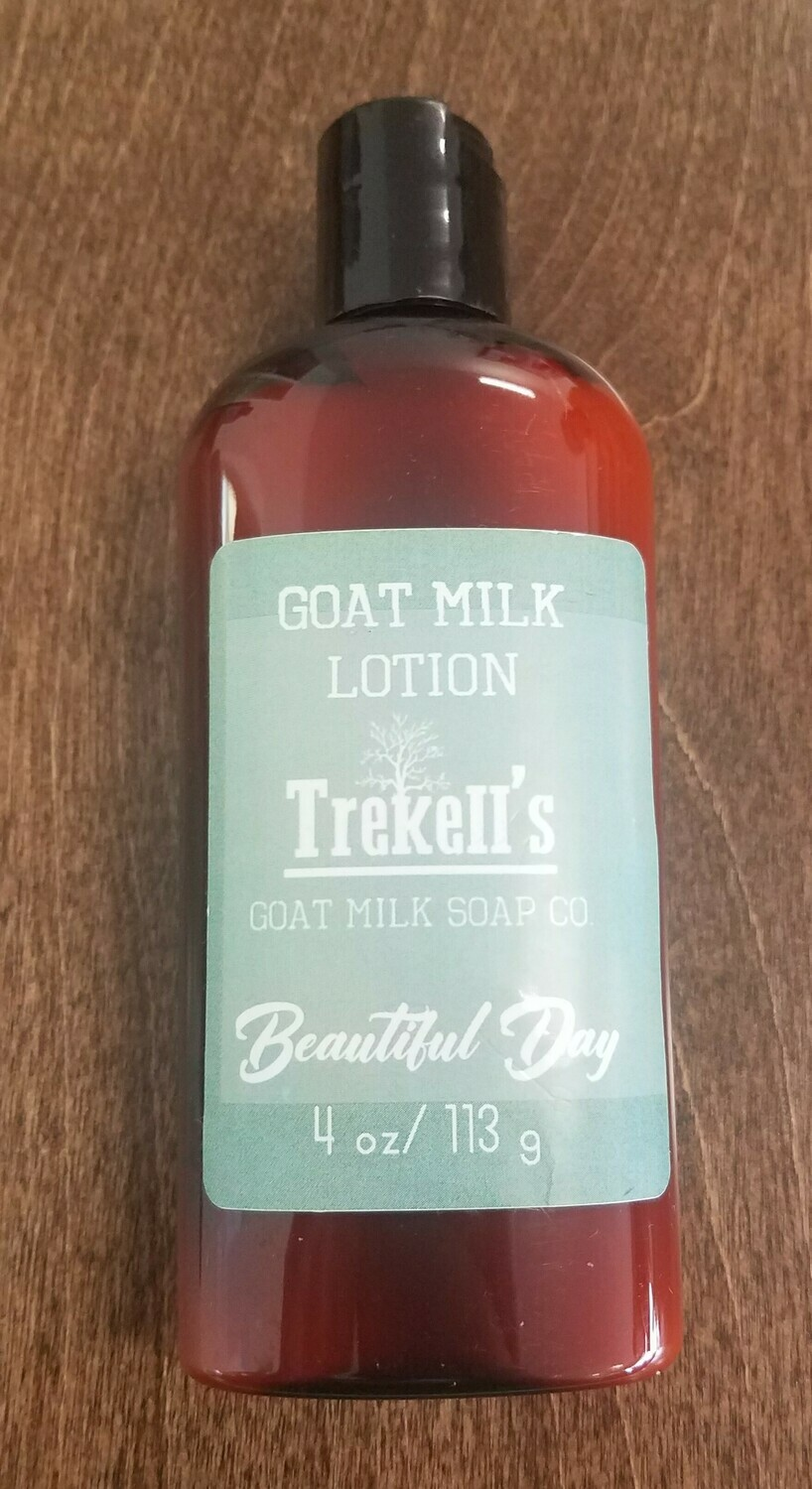 Goat's Milk 4oz Lotion - Beautiful Day