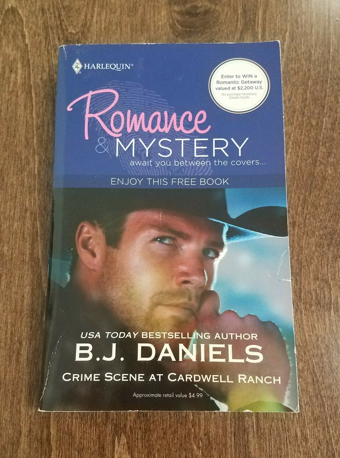 Crime Scene at Cardwell Ranch by B.J. Daniels