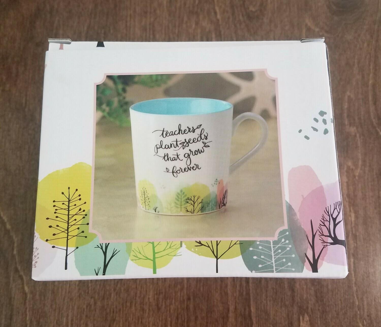 Teachers Plant Seeds Ceramic Coffee Mug