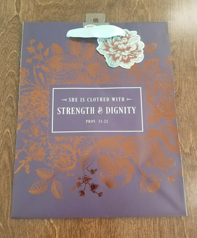 Strength and Dignity Medium Gift Bag