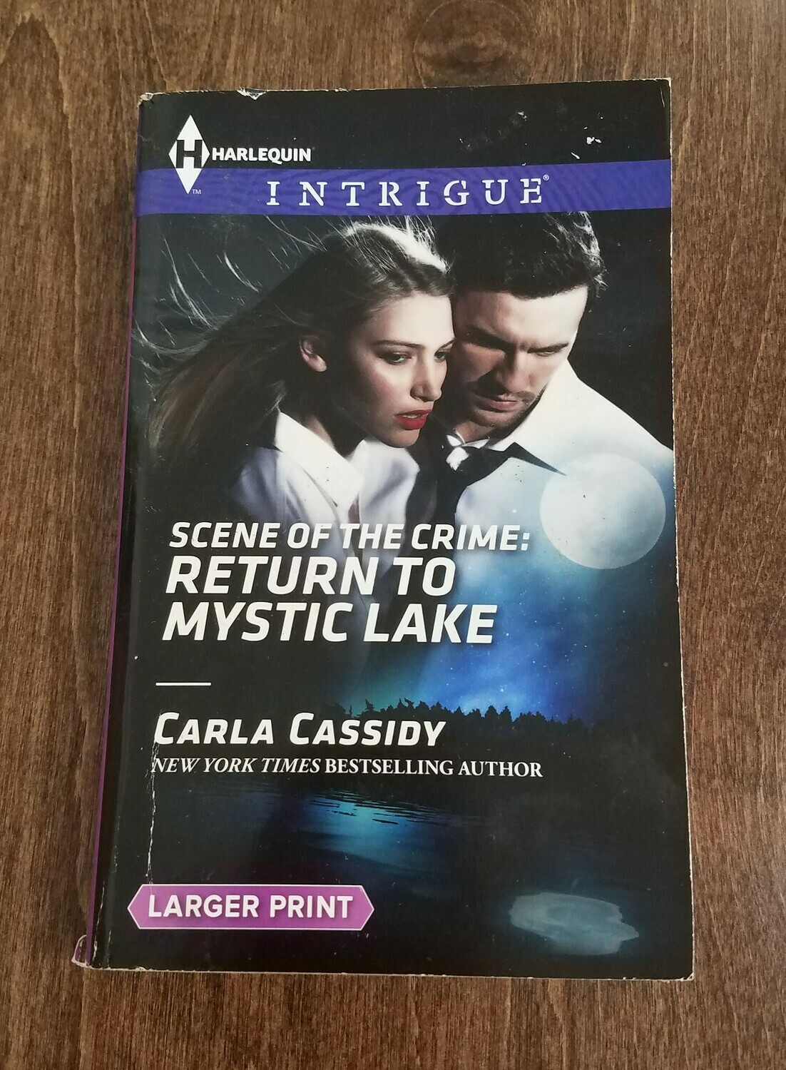 Scene of the Crime: Return to Mystic Lake by Carla Cassidy