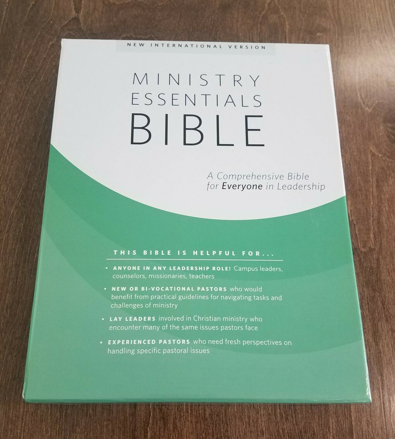 NIV Ministry Essentials Bible - Softcover, Brick/Sand