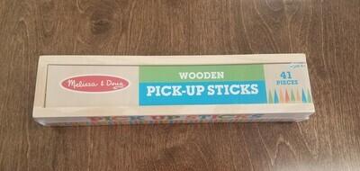 Wooden Pick-Up Sticks Game