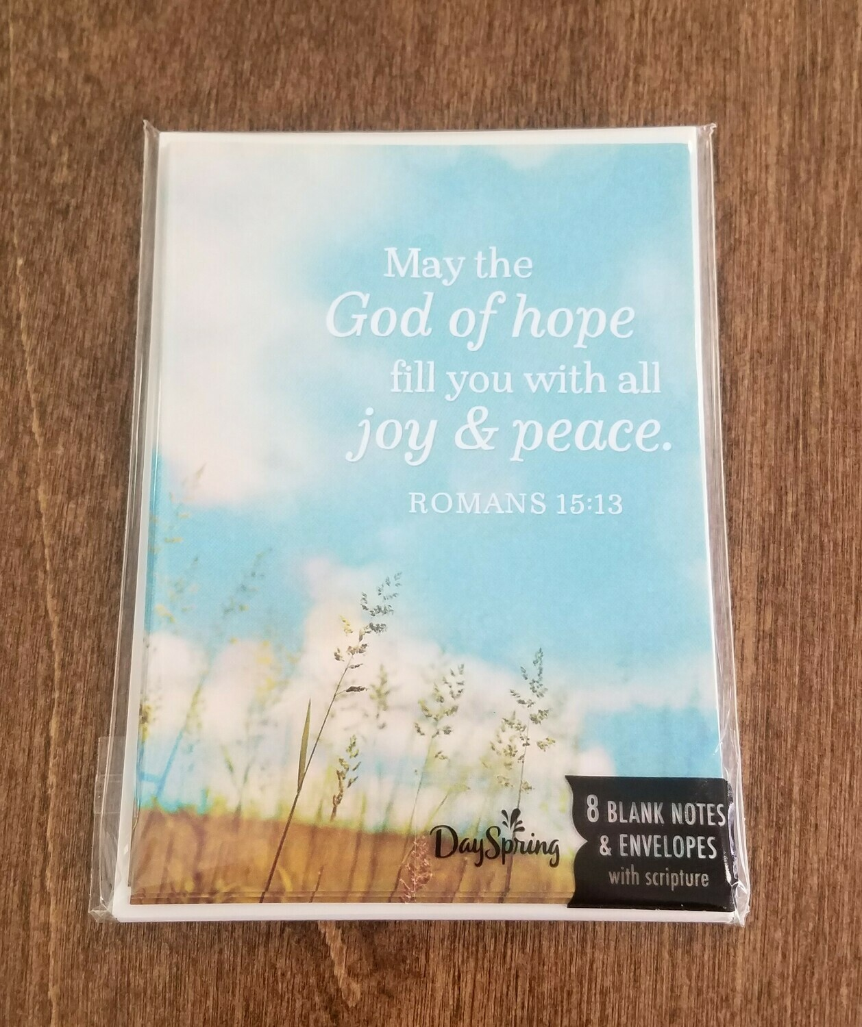 Romans 15:13 Card and Envelope Package