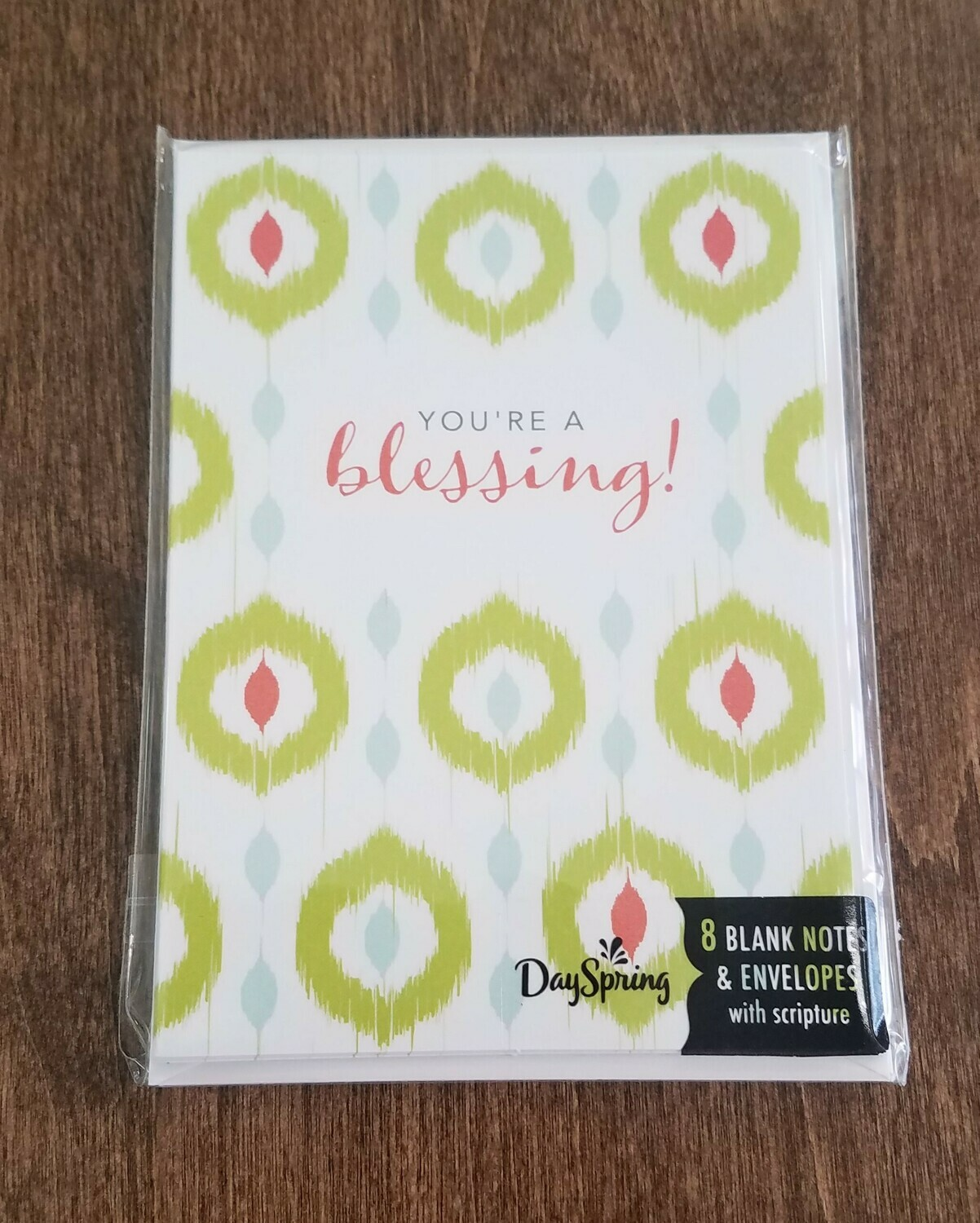 You're a Blessing Card and Envelope Package
