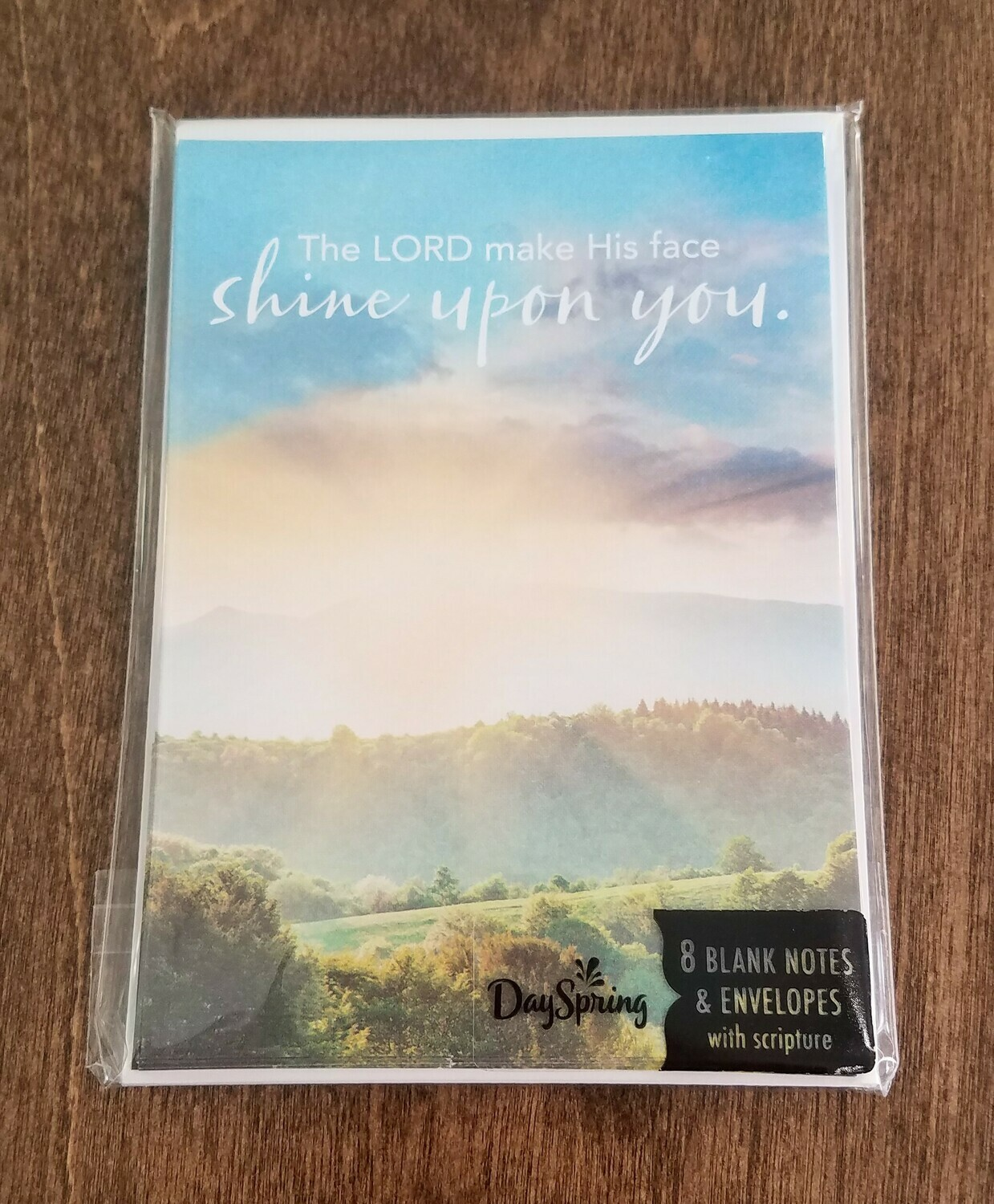 Shine Upon You Card and Envelope Package