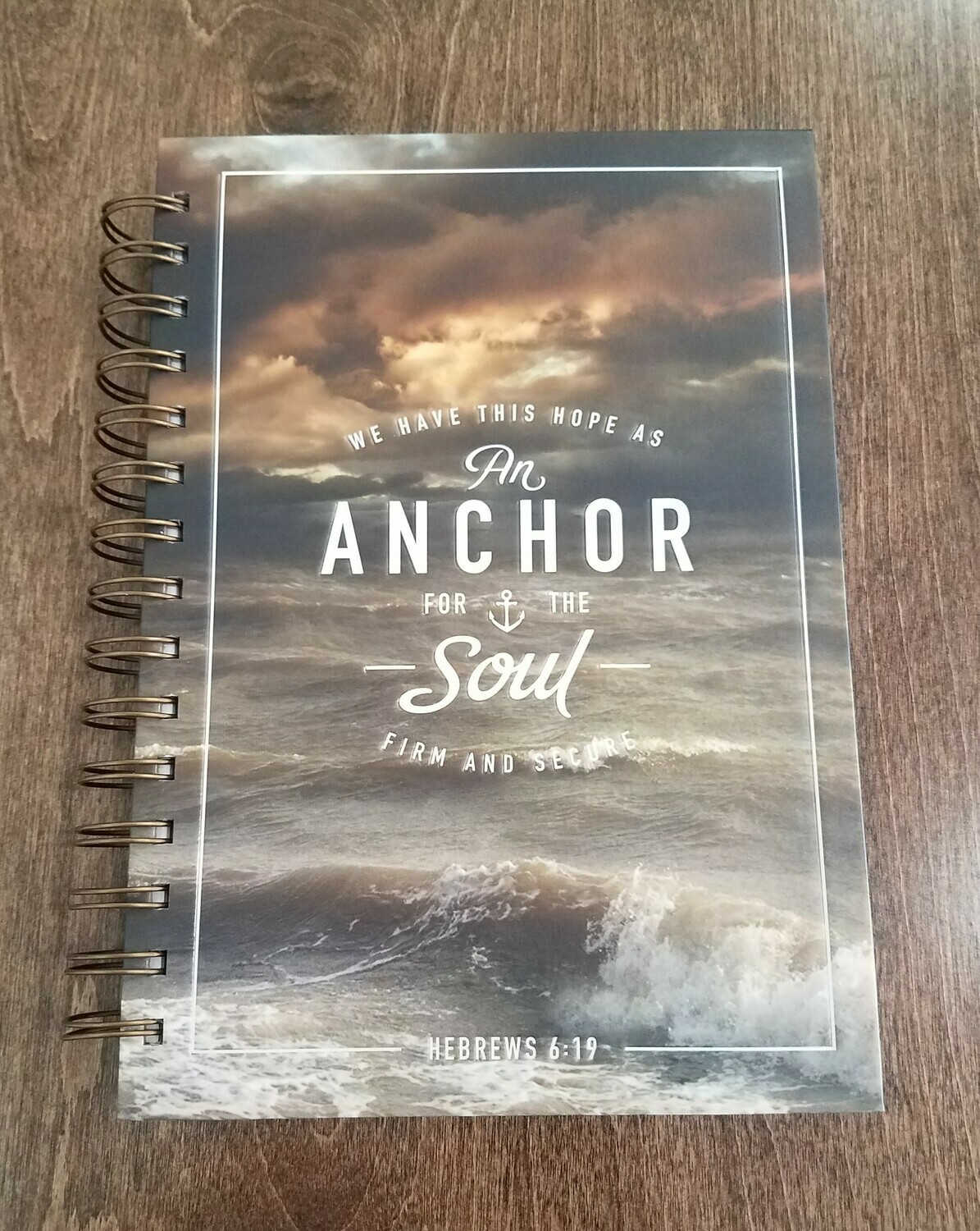An Anchor for the Soul Wirebound Journal