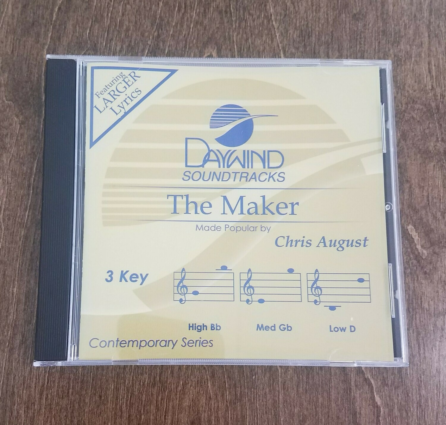 The Maker, Accompaniment CD