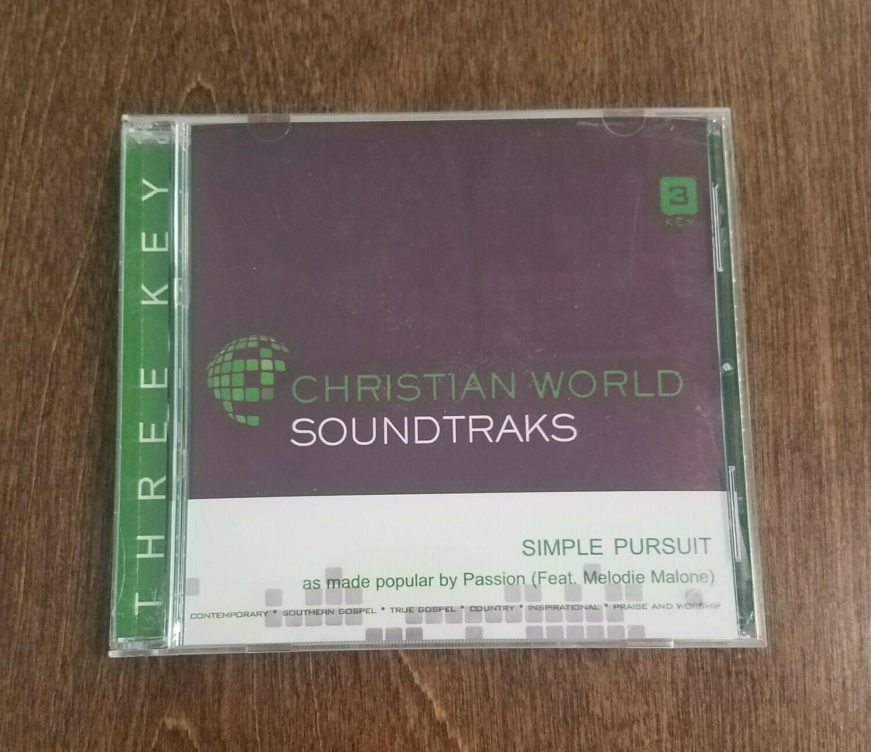 Simple Pursuit, Accompaniment CD