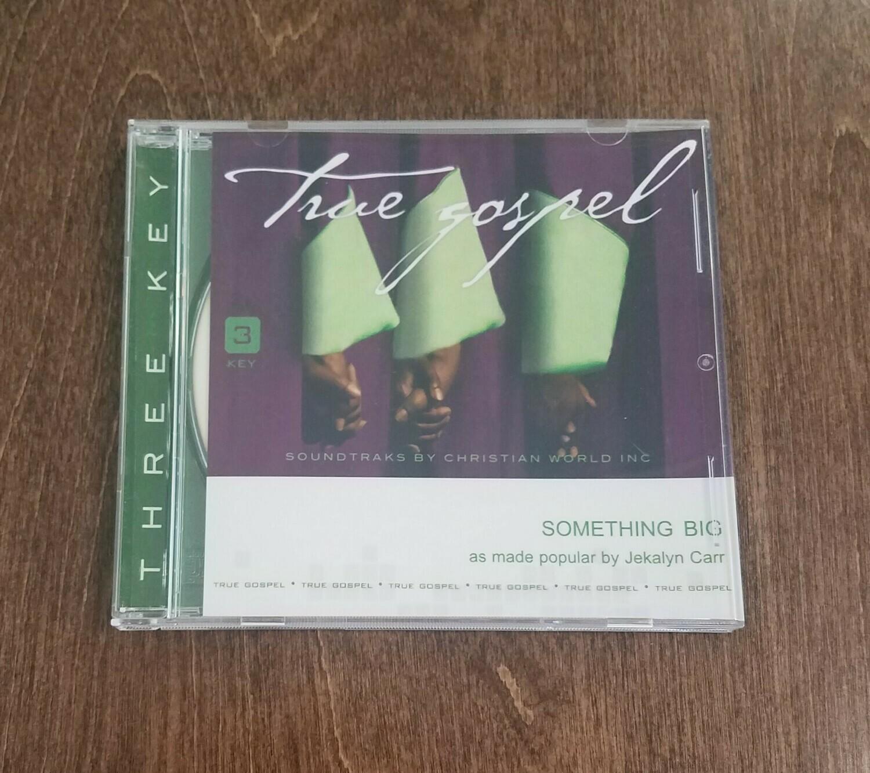 Something Big, Accompaniment CD