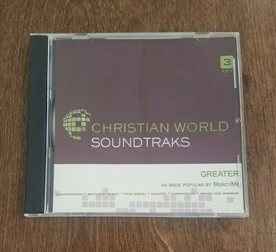 Greater, Accompaniment CD